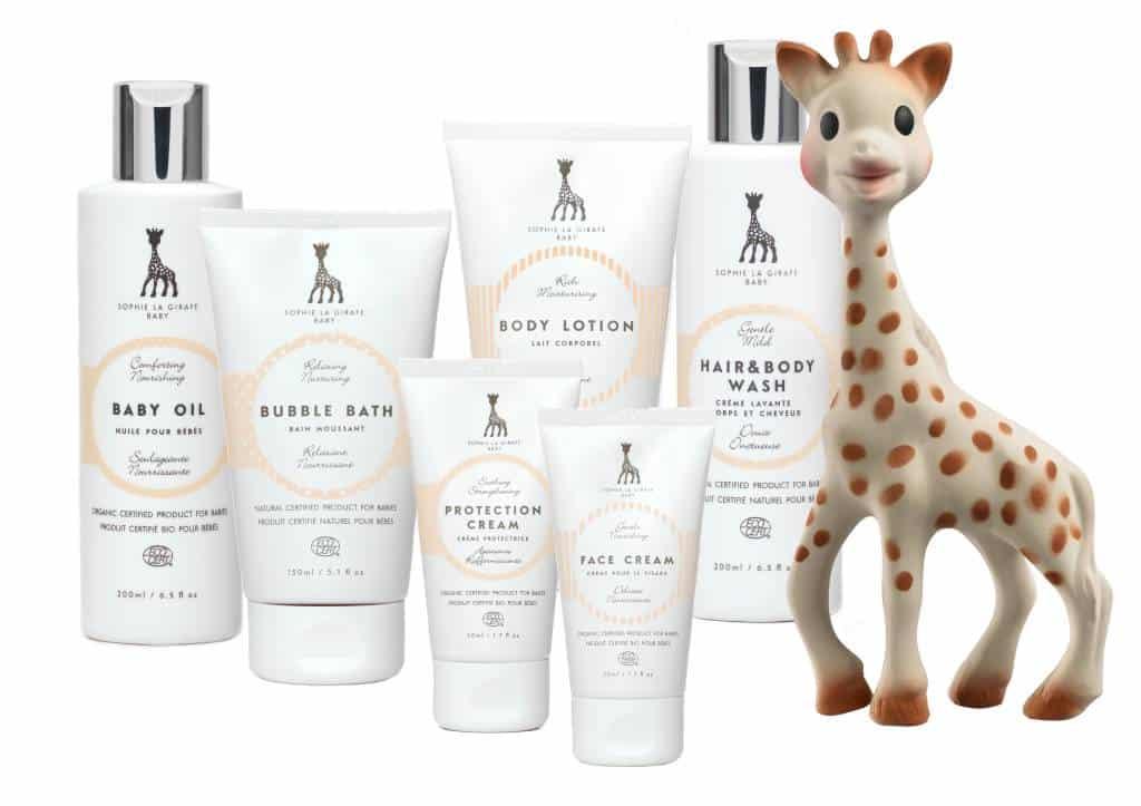Sophie de Giraf babyverzorging starterkit  | Goodiebox Deluxe 2016