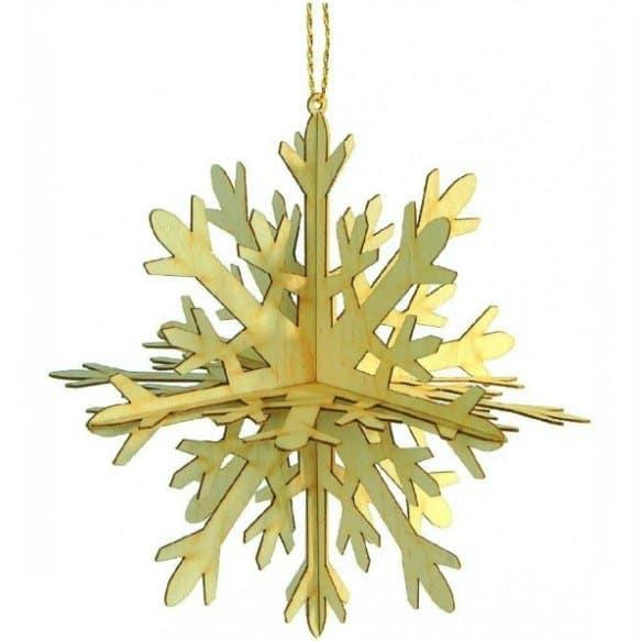 Kerststalletjes en kerstdecoraties van hout