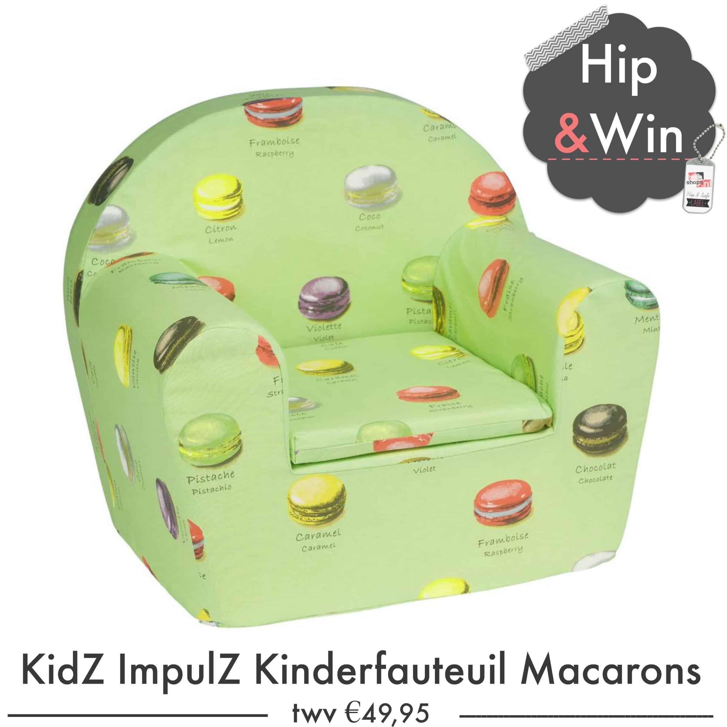 WIN: KidZ ImpulZ Kinderfauteuil Macarons €49,95