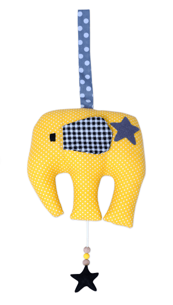 muziekdoosje-olifant-geel