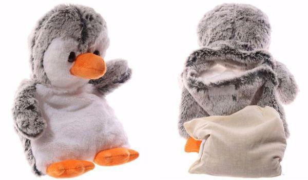 Warmteknuffel pinguïn voor warmte en troost