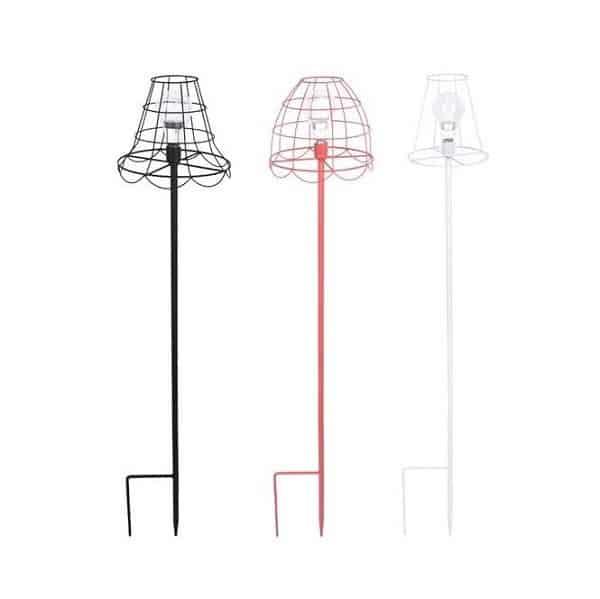 Esschert Design   Hippe lampen of voederplek voor de vogels in de tuin