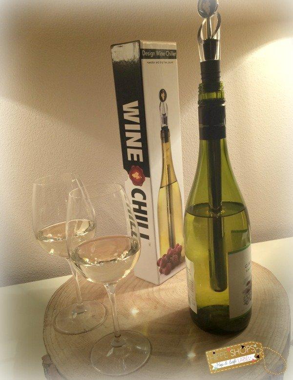 WINECHILL Original 2.0 – de design gadget voor stijlvol wijn koelen en elegant inschenken