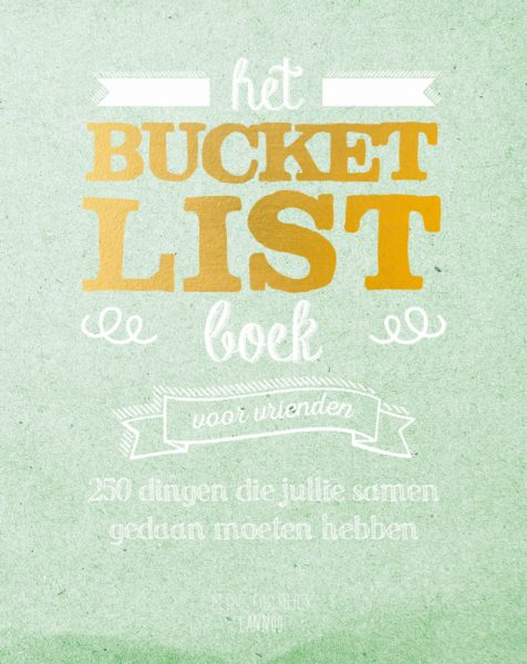 Het bucketlist boek What's in a bag HippeShops