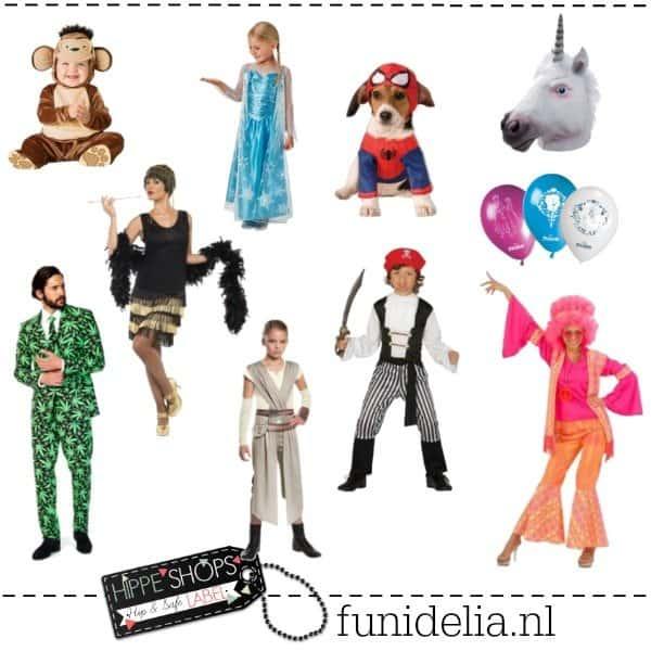 Funidelia – hippe verkleedkleding en partyoutfits online