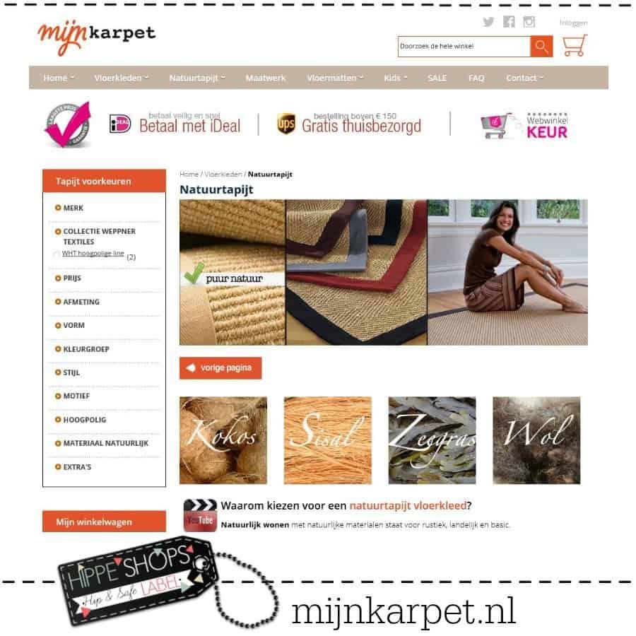 Mijnkarpet.nl – dé finishing touch op vloeren