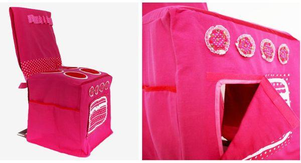 Keukentje Belle&Bastian roze Kideau Hippeshops