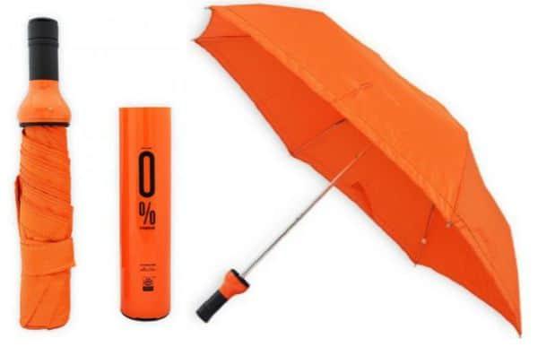 Paraplu Isabrella oranje Hipinderegen HippeShops