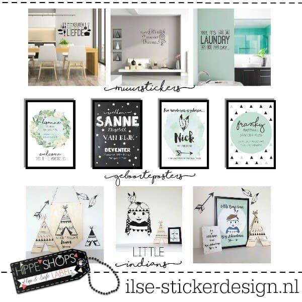 Ilse Stickerdesign: unieke muurdecoratie met een hippe touch