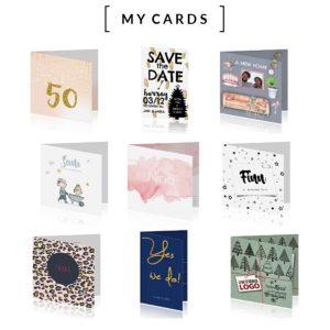 Maak kennis met MyCards.nl, het betrouwbare online adres waar je zelf in vier eenvoudige stappen de mooiste kaarten maakt voor het aankondigen van je bruiloft, de geboorte van je kindje of het versturen van een uitnodiging.