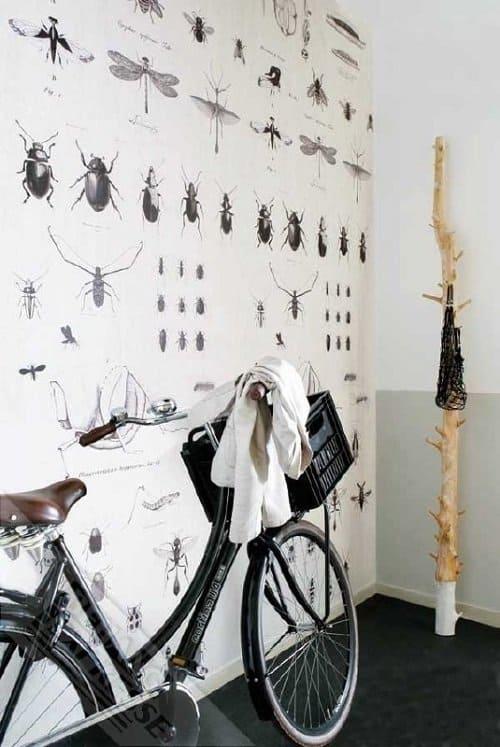 Dehuissleutel-interieur_behang_insecten_Hippeshops
