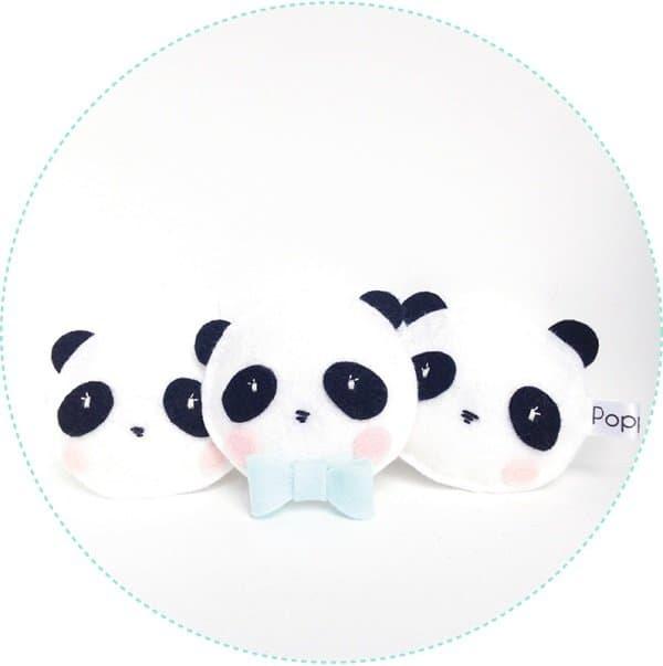 Poppaa-decoratieslinger panda-Hippeshops