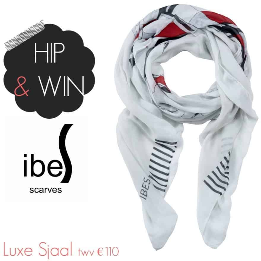 WIN: IBES Scarves luxe designer sjaal 'Scottish Virgin' (twv €110)