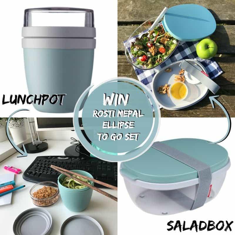 WIN: Rosti Mepal Saladbox & Lunchpot Ellipse