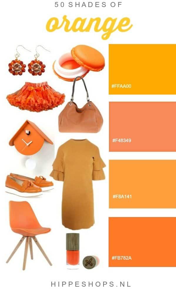 50 Shades of Orange – Happy Birthday King Willem Alexander!