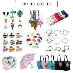 Lotjes Lokjes Dé leukste en hipste (haar) accessoires voor kleine en grote meisjes. Van haarspeldjes tot zilveren oorbellen. Eigen collectie kinderkettingen en Ibiza-elastiekjes en armbandjes.