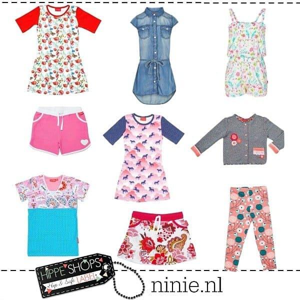 Ninie Kinderkleding – unieke meisjesmode met een vrolijke twist