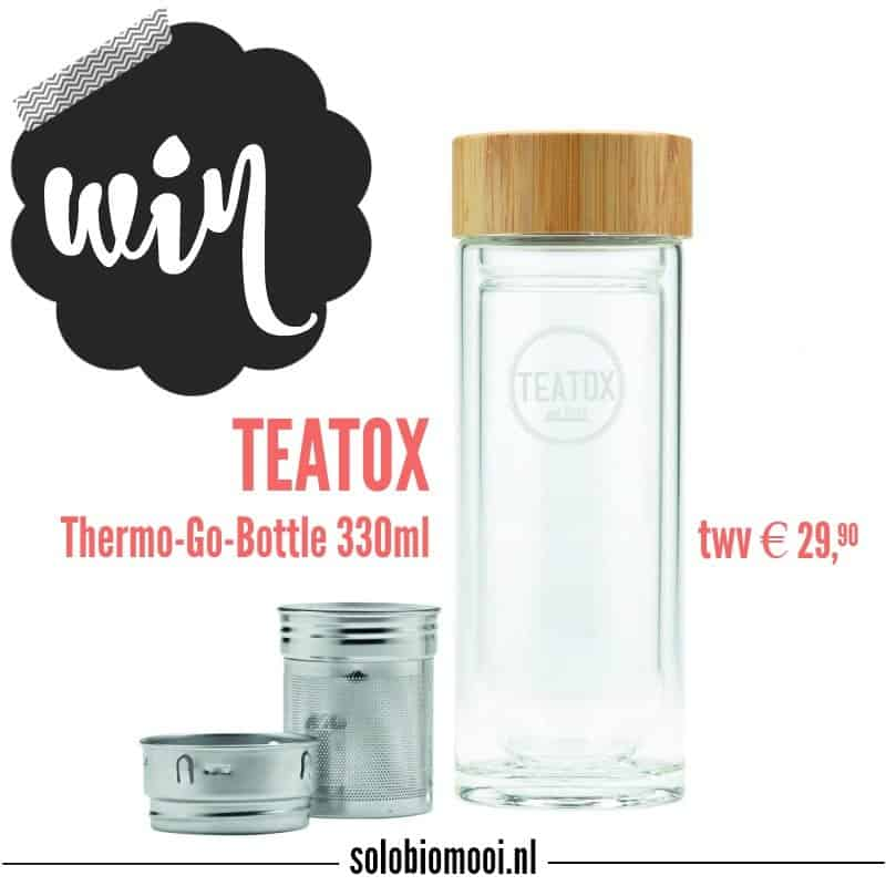 WIN: Teatox Thermo-Go-Bottle, altijd je favoriete thee mee!