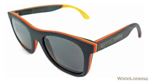 Woodlooking hippe houten zonnebrillen voor hem en haar