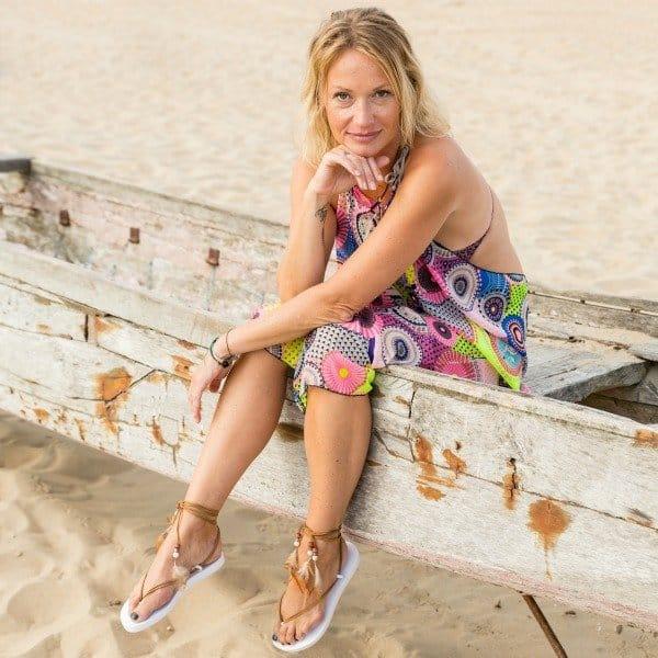 Wrapajanas, hip en handig strandjurkje in Ibiza stijl