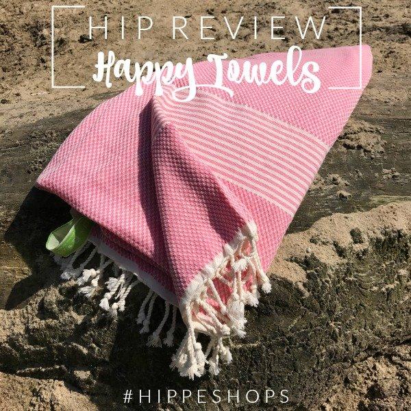Happy Towels: luxe hamamdoek van zachte bamboe met biologisch katoen