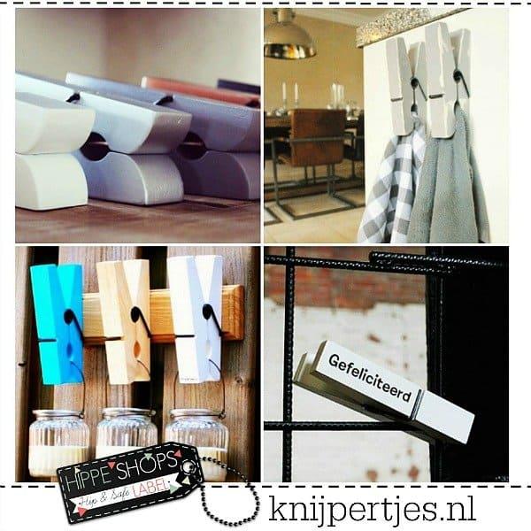 Knijpertjes – houten knijpers die er niet tussen uit knijpen
