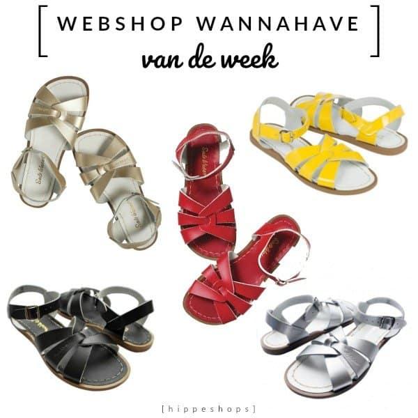 Salt-Water Sandals voor dames en kinderen hippeshops