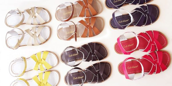 Salt-Water Sandals voor dames en kids in