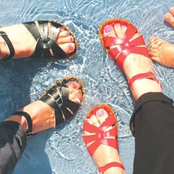 saltwater sandals waterproof