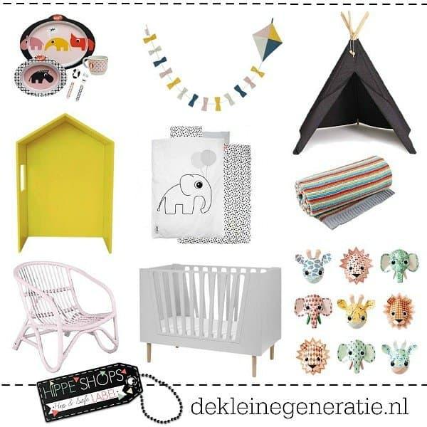 De Kleine Generatie – hippe spullen voor baby's en kinderen