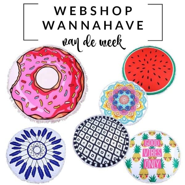 Roundies Beach Towels – Webshop Wannahave van de Week