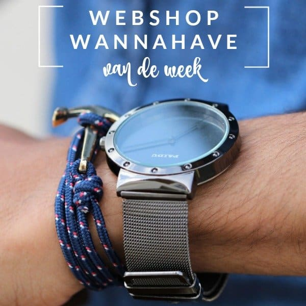 Zwart Paidu Horloge voor Vaderdag – Webshop Wannahave van de Week