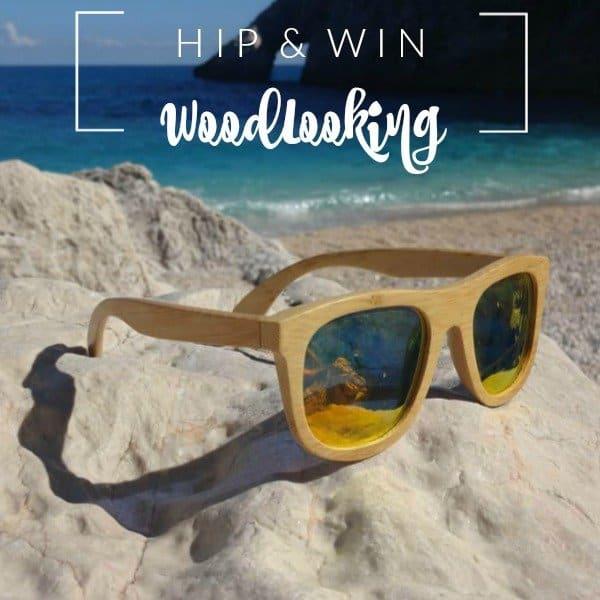 WIN: een hippe houten zonnebril van WoodLooking