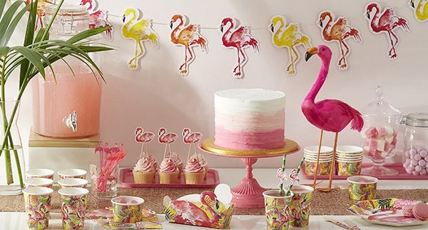 Flamingo Fun Summer Party