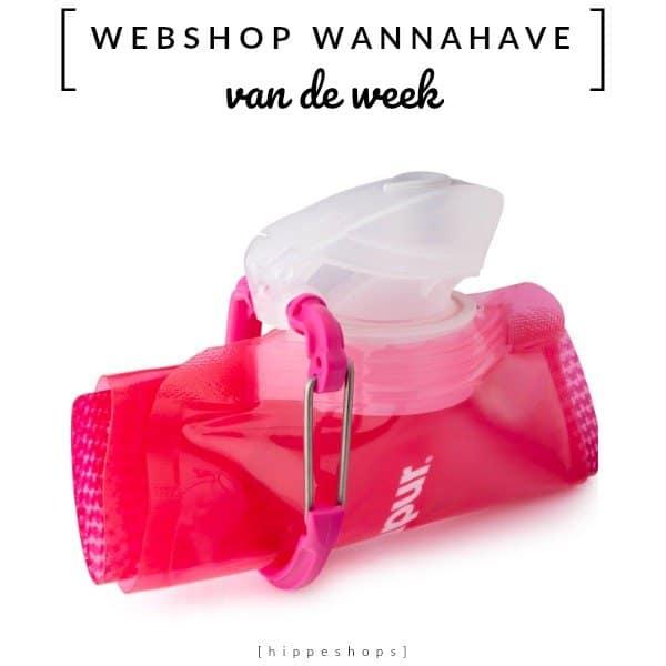 Opvouwbare Drinkfles – Webshop Wannahave van de Week