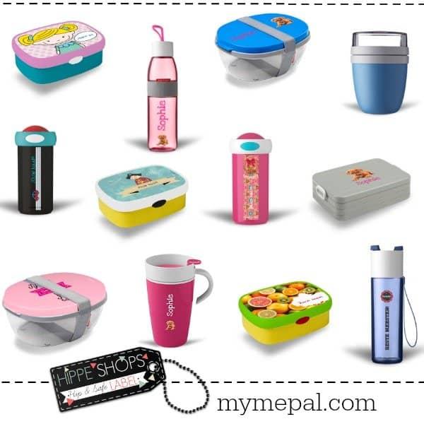 MyMepal: ontwerp zelf jouw unieke lunchbox, schoolbeker of drinkfles