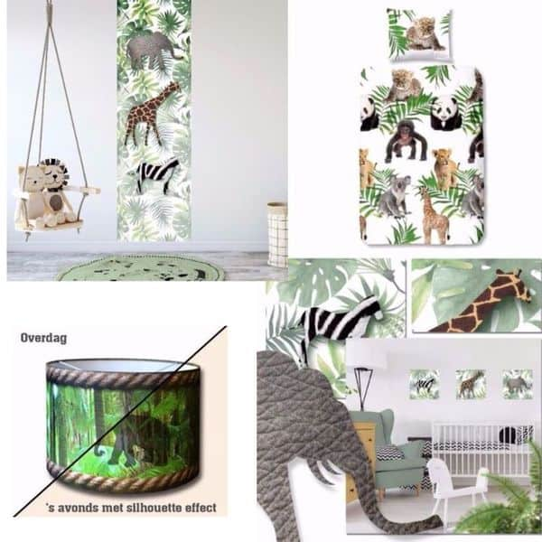 Kleefenzo - themakamer - Jungle - Hippeshops