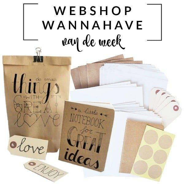 Handlettering DIY-Pakket – Webshop Wannahave van de Week