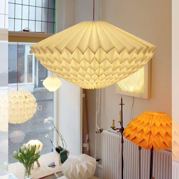 Danielle origami lampen | lichtbron van Japanse kunstvorm