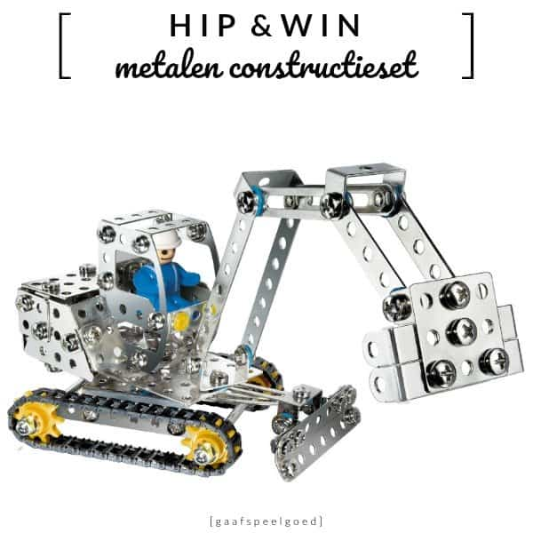 WIN: Eitech metalen constructieset (twv €39,95)