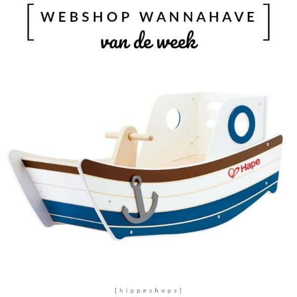 Schommelboot High Seas Rocker  [Webshop Wannahave van de Week]