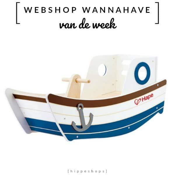 Schommelboot High Seas Rocker  [Webshop Wannahave van de Week]