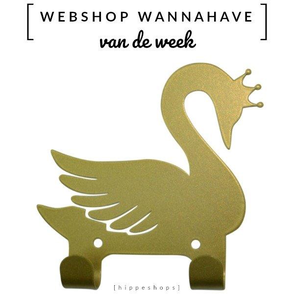 Kapstok haakje zwaan [Webshop Wannahave van de Week]