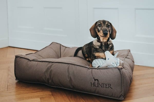 Hunter hondenbed Lancaster S - Fuzzylicious - Hippeshops