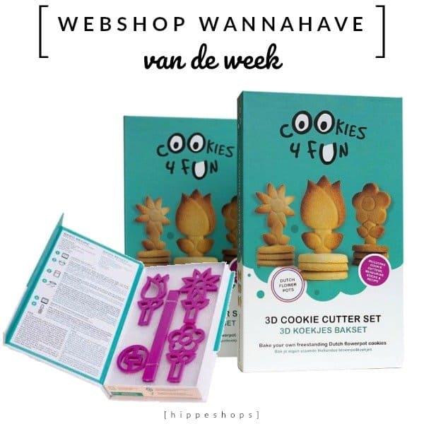 Cookies4fun 3D koekjes bakset [Webshop Wannahave van de Week]