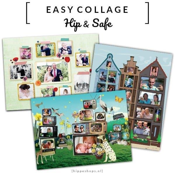 EasyCollage: maak makkelijk de allermooiste fotocollages