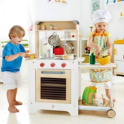 Hape houten keukentje voor de mini chef