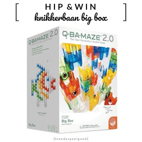 Q-Ba-Maze knikkerbaan Big Box (twv €39,95)