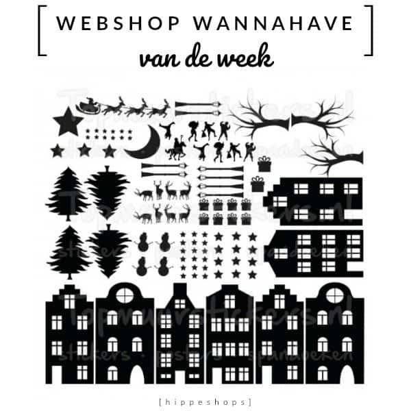 Raamstickers Sint & Kerst [Webshop Wannahave van de Week]