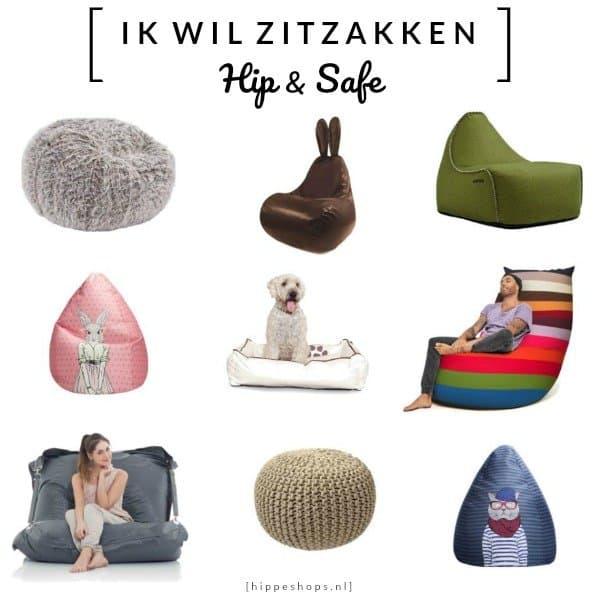 IK WIL ZITZAKKEN – Design Zitzakken en Poefs